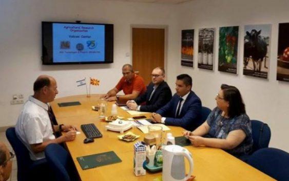 Министерот Николовски во Израел на средби со компании од агро сектор и научно истражувачки центри