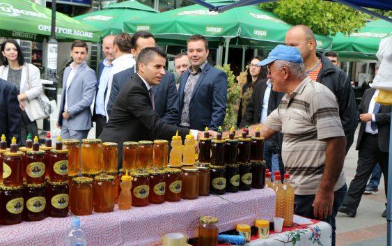 Министерот Николовски најави системски мерки за развој на пчеларството