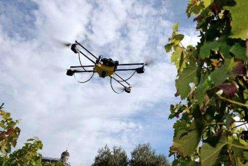 Photo of Прскање со дрон за подобри приноси во земјоделството