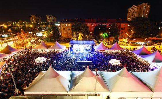 Пролетен фестивал на виното пред Веро-Центар