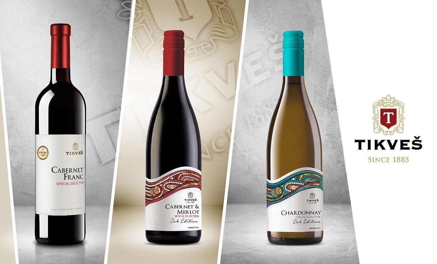 tri novi vina na tikvesh
