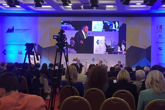 """Photo of СКСЗМ на Конференцијата """"Мontenegro 2016"""" за развој на Западен Балкан"""