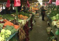 Продажбата на зелените пазари е намалена за 20%