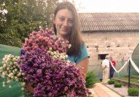 Цвеќињата на Клаудија и Кристина од Теарце
