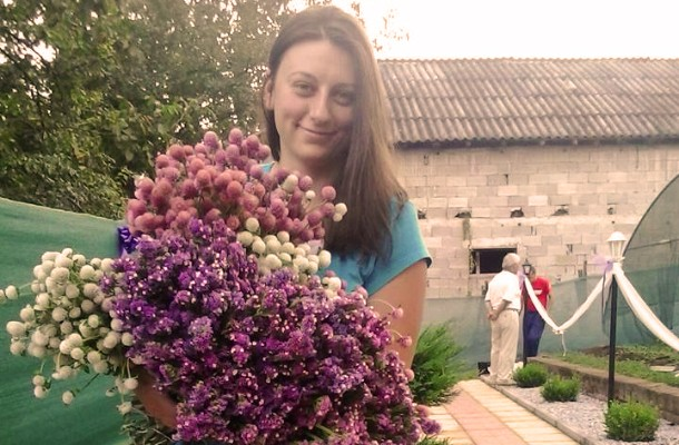 Photo of Цвеќињата на Клаудија и Кристина од Теарце