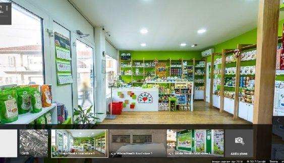 Продажните објекти на Виталиа на 360 Гугл стрит вју