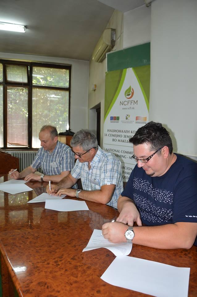 Photo of Потпишана Декларација за формирање на Национален комитет за семејно земјоделство