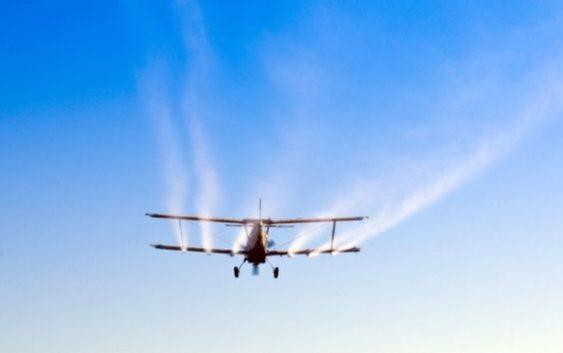 Авионска дезинсекција во Скопје на 8 и 9 септември