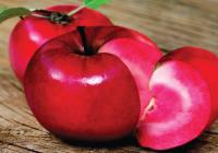 Јаболка со црвено месо