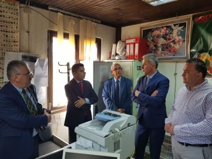 Photo of Николовски во посета на инспекторските служби на АХВ и на Фитосанитарна управа на граничниот премин Деве Баир