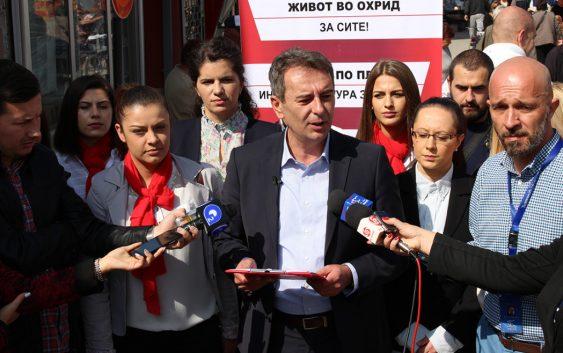 Стојаноски: Во Охрид ќе изградиме откупно-дистрибутивен центар за земјоделски производи