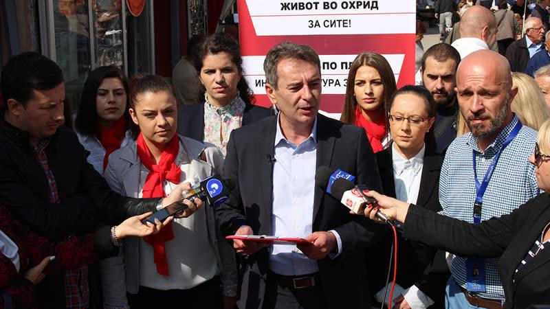 Photo of Стојаноски: Во Охрид ќе изградиме откупно-дистрибутивен центар за земјоделски производи