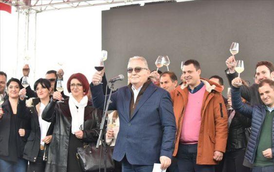 """Бербата 2017 оценета со одличен квалитет на младото вино на """"Тиквеш"""""""