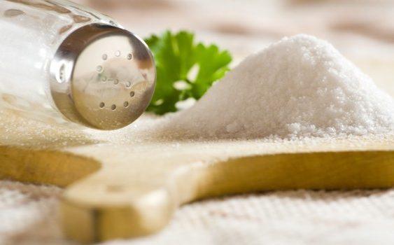 Избегнувајте сол во исхраната