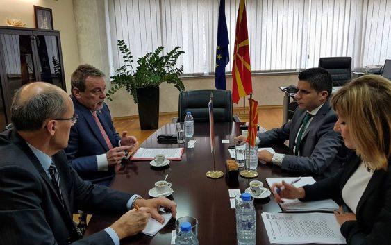 Македонија и Чешка ќе работат на унапредување на трговијата со земјоделско-прехранбени производи
