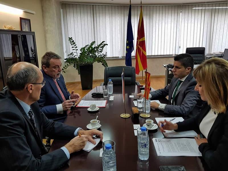 Photo of Македонија и Чешка ќе работат на унапредување на трговијата со земјоделско-прехранбени производи