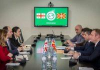 Прва посета на македонска висока делегација на Грузија, предводена од министерот Николовски