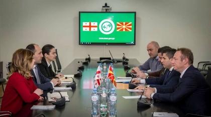 Photo of Прва посета на македонска висока делегација на Грузија, предводена од министерот Николовски