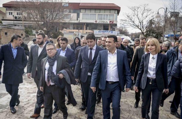 Photo of Премиерот Заев во посета на Тиквешијата: Остануваме партнер на лозарите и за поголема откупна цена