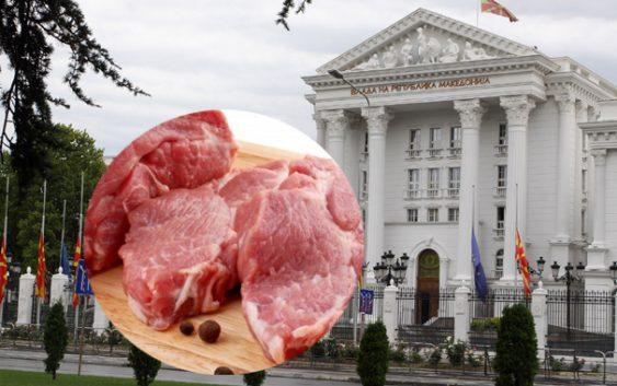 Владата ќе купува месо за 40 илјади евра