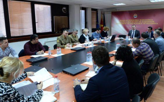 Управувачкиот комитет за координација и управување во системот за управување со кризи, синоќа ја одржа својата 6-та седница.