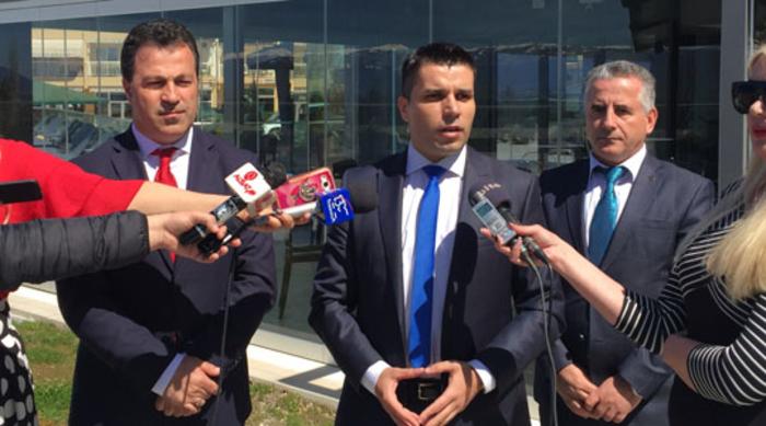 Photo of Работна средба на министрите за земјоделство на Македонија и на Албанија во Охрид
