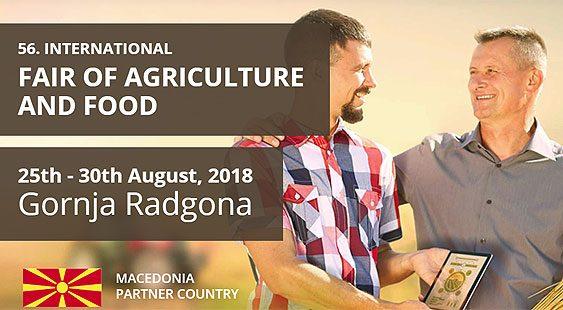 """Македонија земја-партнер на """"АГРА"""" 2018"""