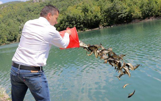 Започна порибувањето на води кои немаат концесионер