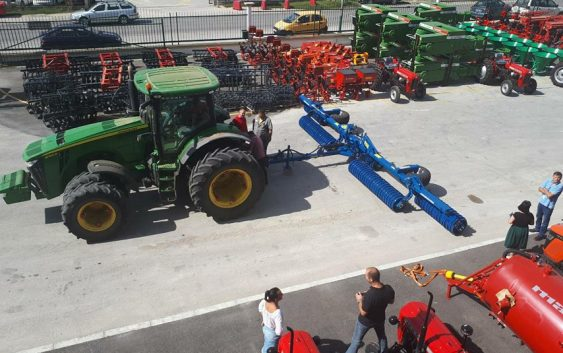 Добра механизација за успешно земјоделие