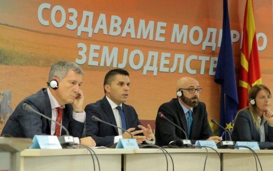 """Николовски: Проектот """"Функционална анализа на МЗШВ"""" ќе значи навремени и квалитетни услуги за земјоделците"""