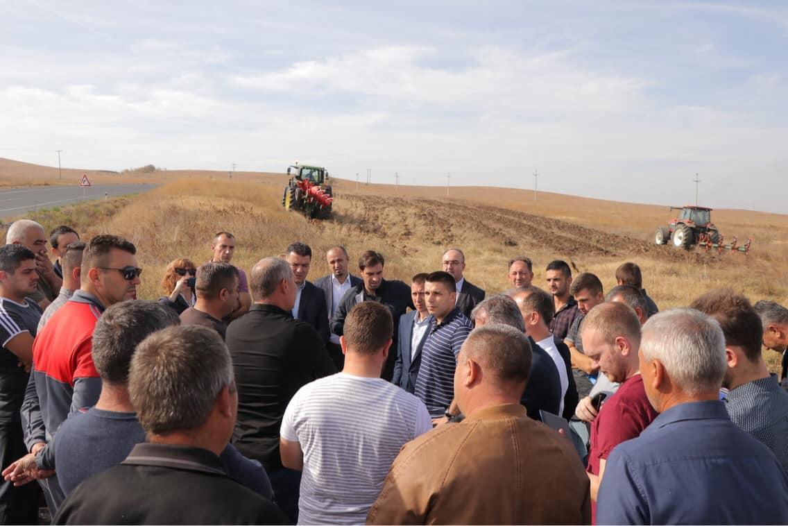 Photo of Николовски: Склучени 8 договори за земјиштето од агрокомбинатот Џумајлија, за површина од околу 714 хектари