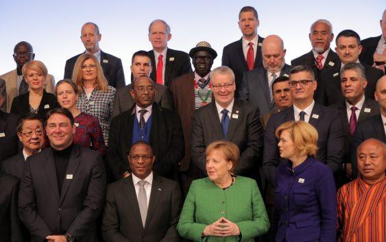 Министерот Николовски присуствуваше на состанокот на меѓународните министри со германската канцеларка Ангела Меркел