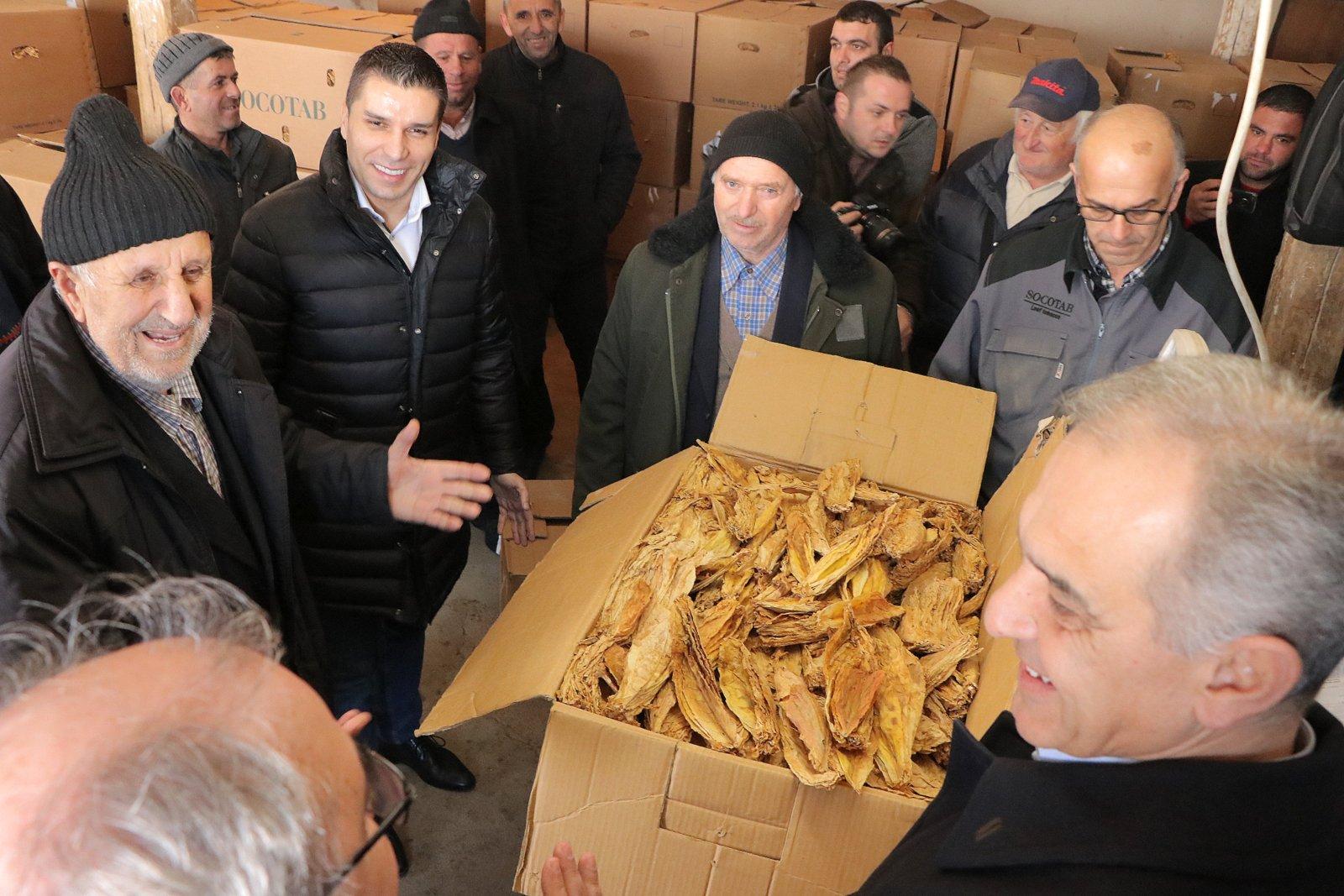Photo of Откупени над 15 милиони килограми тутун по просечна цена од 210 денари за килограм
