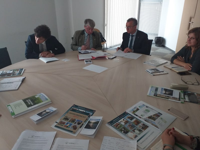 Photo of Австриски експерти на средби со министерството и со фармерите