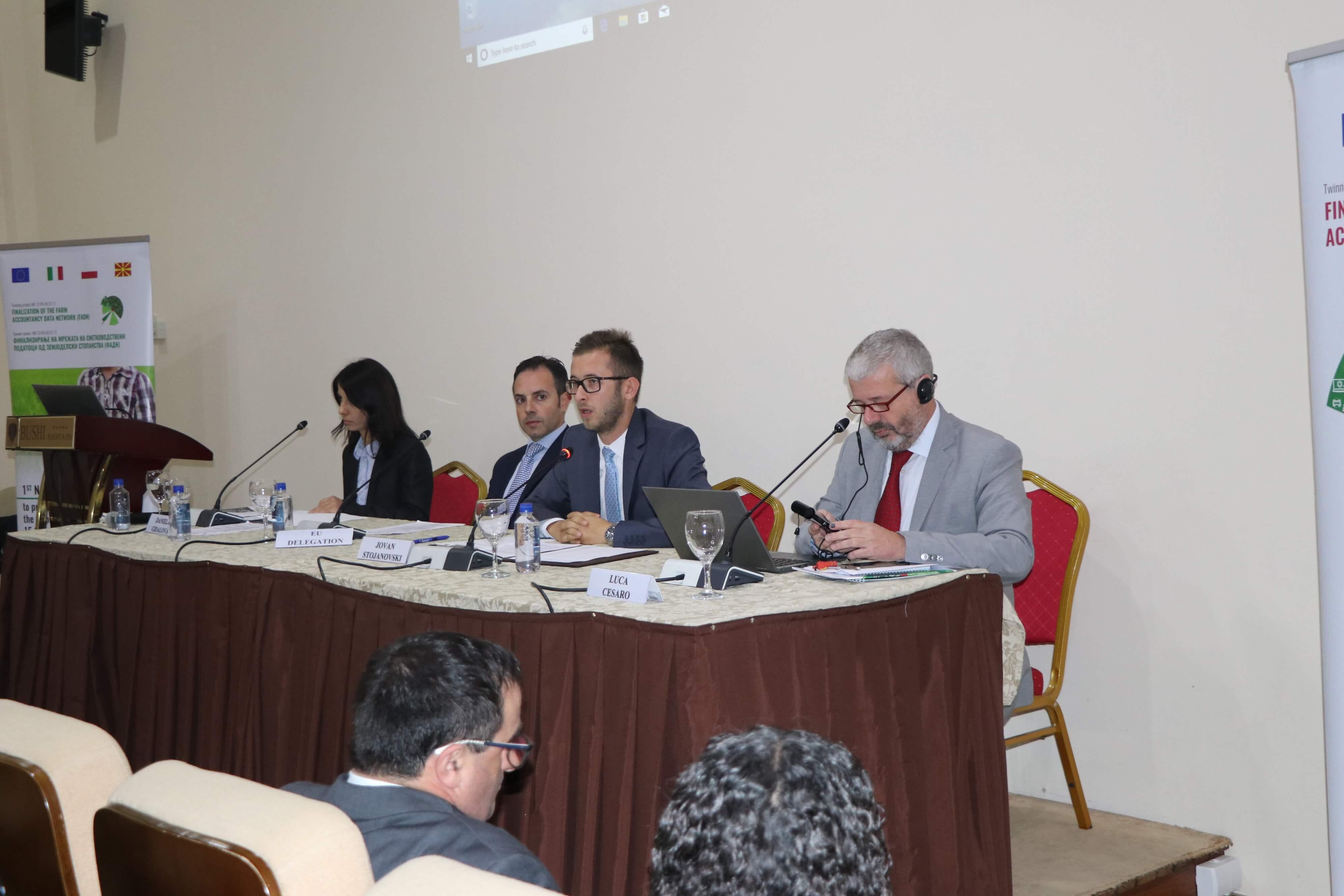 Photo of Првата национална конференција за промовирање на ФАДН Стандардни резултати, во организација на министерството за земјоделство, шумарство и водостопанство