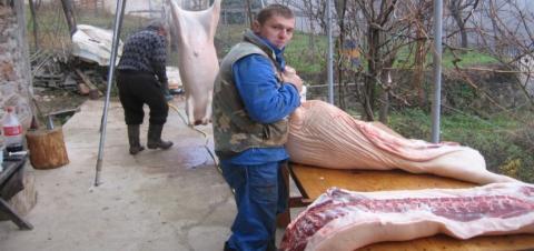 Photo of Во сезоната на колење свињи-заштитете се себе си и околината