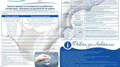 Photo of Златни правила за напојување на добитокот ( четврт дел )- Контрола на квалитетот на водата