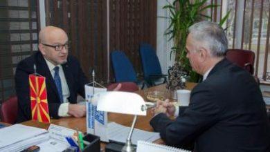 Photo of Атанансов одржа работен состанок со првиот човек на Ветеринарната комора