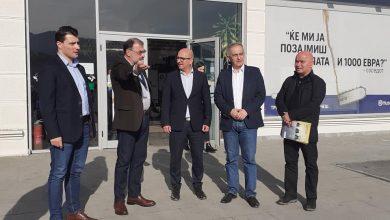 Photo of Димковски и Бабовски во посета на Синпекс Битола