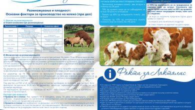 Photo of Размножување и плодност- основи фактори за производство на млеко ( прв дел)
