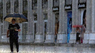 Photo of Попладне дестабилизација на времето, грмежи и дожд со можна појава на град