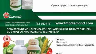 Photo of Со препаратите на ДИАМОНД ТМБ , здравјето влегува преку коренот!