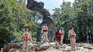 Photo of ЈП Стрежево со честитка за Илинден