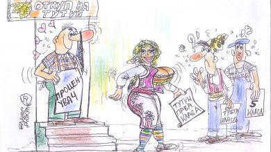Photo of Откупот на тутунот во карикатурата на Блаже Докуле