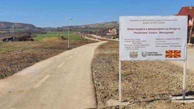 Photo of Нова пешачко велосипедска патека доби Свети Николе