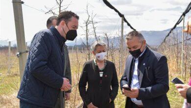 Photo of Милевски: Веруваме во развиено и модерно земјоделие